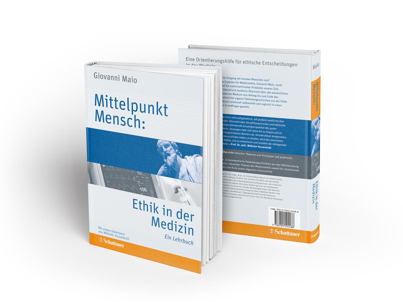 martin_zech_design_buchcover_schattauer_verlag_giovanni_maio_mittelpunkt_mensch_ethik_in_der_medizin
