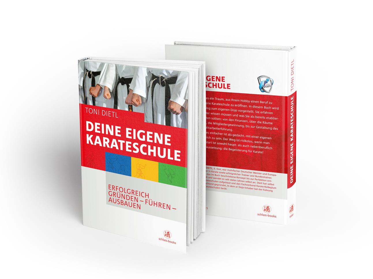 martin_zech_design_buchcover_toni_dietl_deine_eigene_karateschule