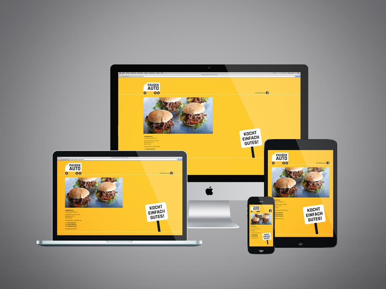 martin zech design, pausenauto, website