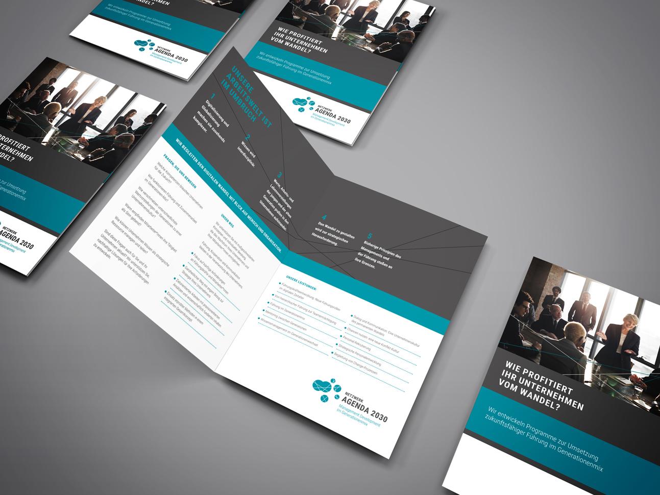 martin zech design, corporate design, agenda 2030, infobroschüre