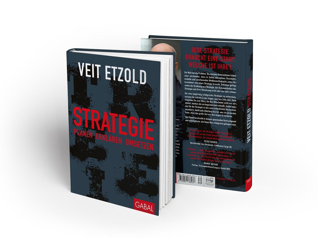 martin zech design, buchcover gestaltung, gabal verlag, veit etzold, strategie