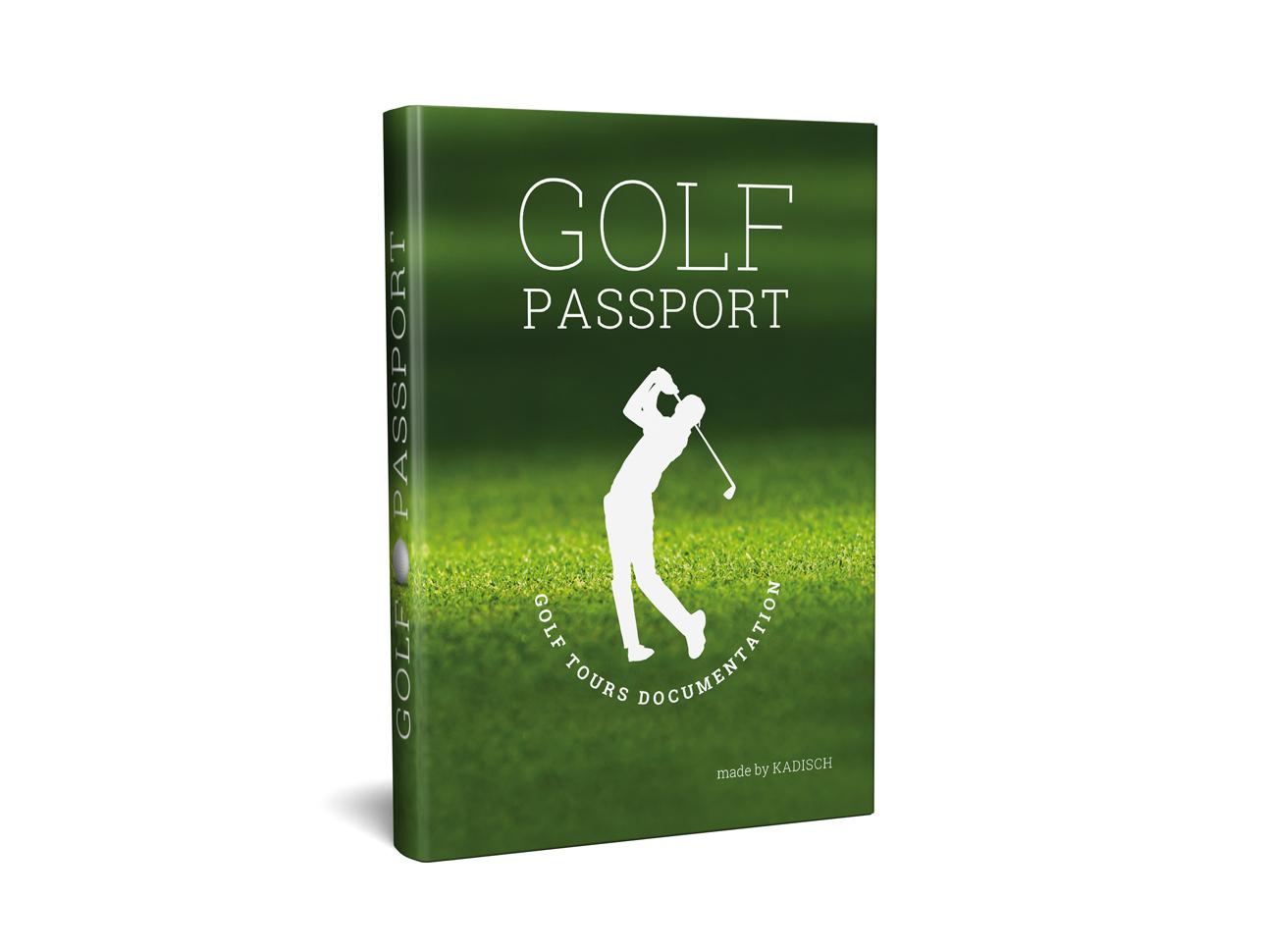 martin zech design, buchcover, self publishing, schaedler, golf passport