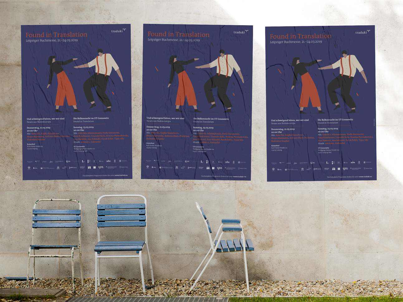 martin zech design, projekt design, traduki, messestand, leipziger buchmesse, 2019, plakat