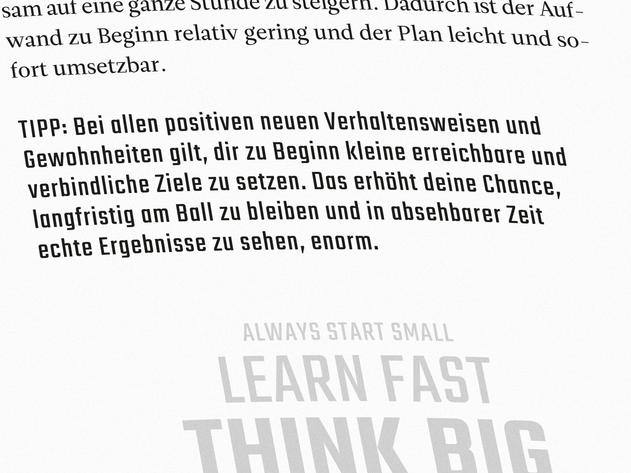 martin zech design, buchgestaltung, fabian schwaiger, power up, detail